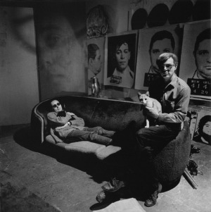 andy warhol and cats 'sam'